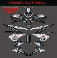 1024.Honda CS1 Hitam- Tribal1